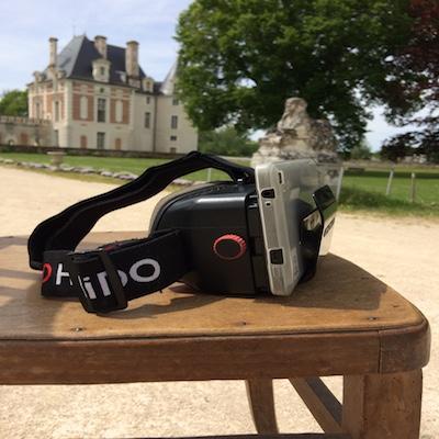 3D lunettes et fond de chateau selles sur cher