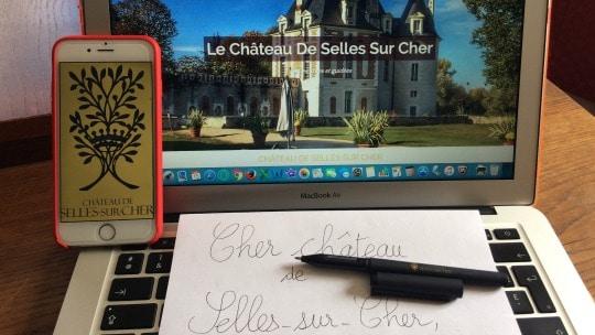 Contact château selles sur cher
