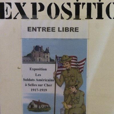 Exposition 1917 chateau de selles sur cher