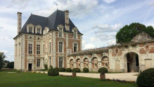 Château de Selles sur Cher, pavillon Béthune, vue sud