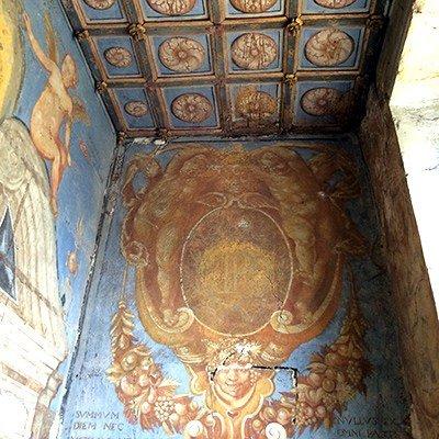 Vue de peintures datant du début du XVIIè siècle