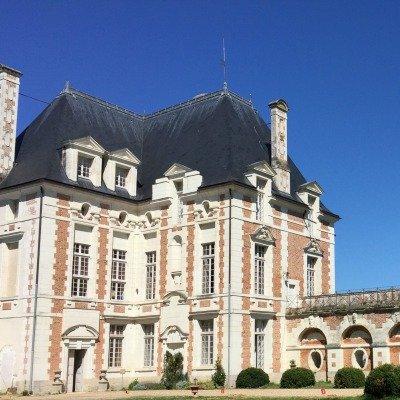 Vue ouest du Pavillon Béthune château de Selles sur Cher
