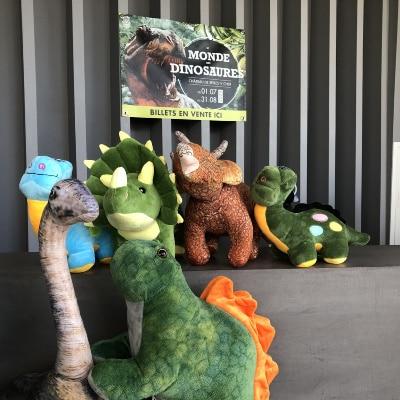 Expo le monde des dinosaures été 2020