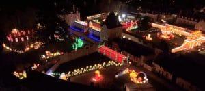 Festival des Lumières Célestes France Survol