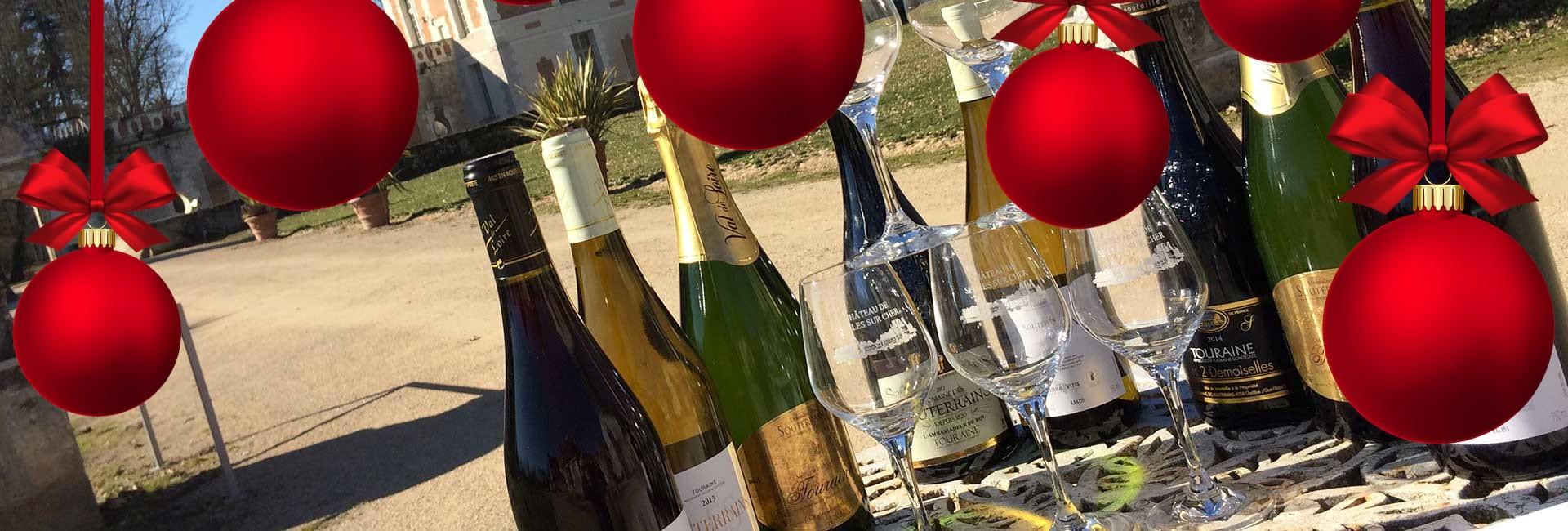 Pour Noël et le Réveillon, achetez en ligne les vins du château de Selles sur Cher !
