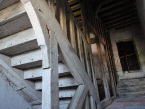 escalier médiéval