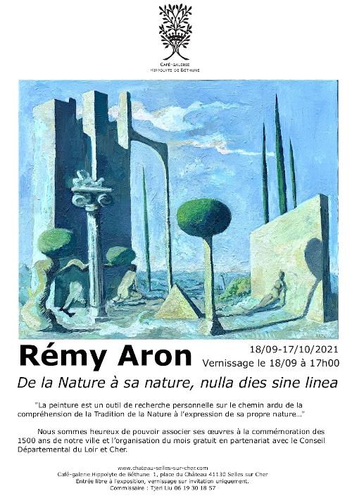 exposition remy aron chb château de Selles sur Cher